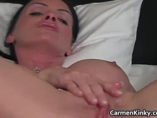 Juggs Carmen fornicate her ultra-kinky labia part1 Thumb