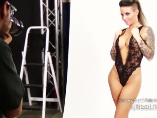 Interactive - Christy Mack's Photoshoot sesh Concludes with a Clit Necklace Thumb