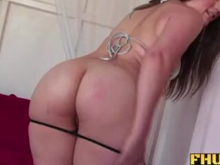 Fhuta - Charlotte gets a thick fountain on her pierced clit. Thumb