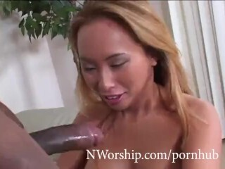 Diminutive Chinese whore taking in the bootie large ebony manstick bi-racial ass-fuck romp Thumb