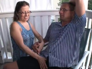 Mature Cougar Offers Voluptuous Hand Job To Her Boy Thumb
