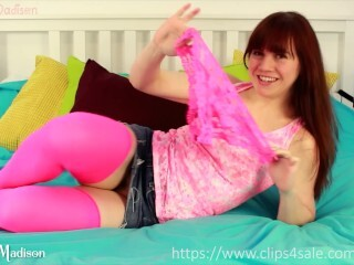 Undies convert Tammie Madison into Hermaphroditism - getting off and jizz flow Thumb