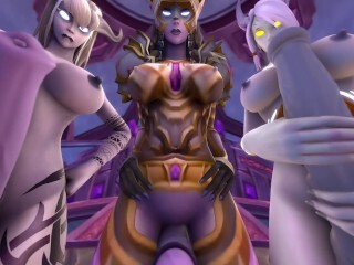 3 Draenei Plow your Gullet - Warcraft WOW Futa TAKER Point Of View Thumb