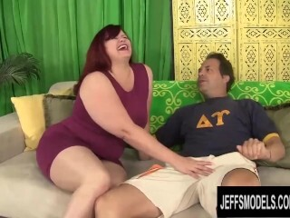 Yam-sized Backside Sandy-haired Plus-size Marcy Diamond Gets Pounded by a Lengthy Weenie Thumb