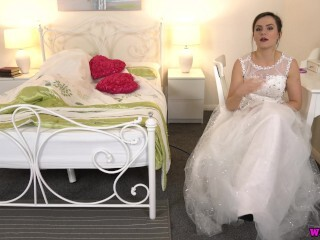 Bitchy Bride Gives You Wank Off Command While Spouse Is In Bed! Thumb